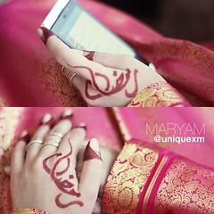 رمضان (Unique xm) Tags: tattoo design henna ramadan نقش رمضان حنا حنه حنة رمضانيات