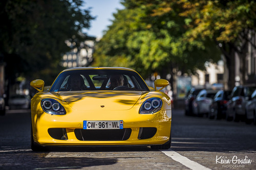 Porsche Carrera GT Speed Yellow