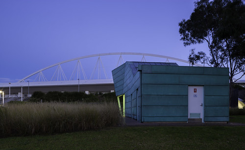Amenities and Ticket building - Sydney Olympic Park