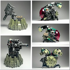 CBM-3 Portable Munitions Turret (piratesxlovexrum) Tags: lego cannon marines vtol dropship flickrandroidapp:filter=none