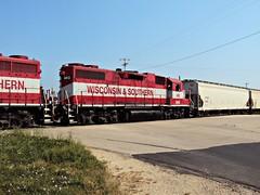 WSOR 3813 (L595) (SW Rail Photos) Tags: emd gp382 wsor wisconsinsouthern l595 oshkoshsub