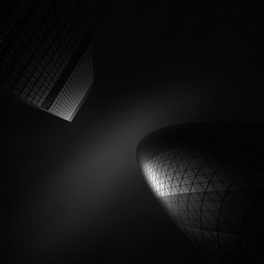 Ode to Black | Black Hope V  Persona Black (Julia-Anna Gospodarou) Tags: abstract architecture fineart normanfoster gherkin contrasts modernarchitecture manfrotto architecturalphotography blacksky londonarchitecture blackhope bwnd110 nikond7000 nikon1024mm blackandwhitefineartphotography fineartarchitecturalphotography odetoblack visionography juliaannagospodarou hoyand64 envisionography personablackphotographydrawing