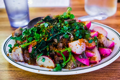 Stir-Fried Pork Jowls and Radishes (FoodTy [food-tee]) Tags: sanfrancisco california usa missionchinese dannybowien