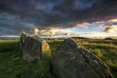 Magical Rocks (Gareth Wray - 8 Million Views -Thank You) Tags: county blue ireland sunset red summer vacation sky irish sun holiday tourism monument field rock stone set standing circle lens landscape photography star countryside site ancient nikon worship rocks europe day photographer angle cloudy dusk stones side famous horizon country wide scenic landmark visit tourist eire historic national fox trust granite fields mystical hd druid colourful nikkor monuments gareth hdr donegal attraction pagan druids mythical tyrone wray beltany raphoe strabane 1024mm d5200 bestcapturesaoi elitegalleryaoi hdfox