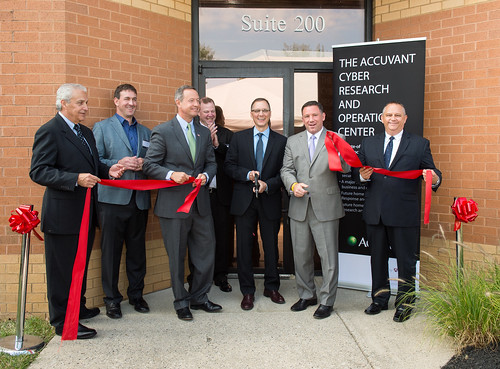 Accuvant Ribbon Cutting