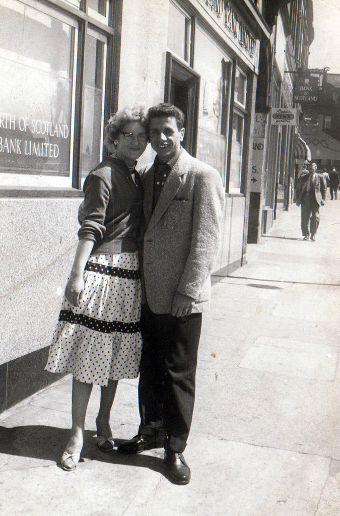 Margaret and David Rae Glasgow 1950s