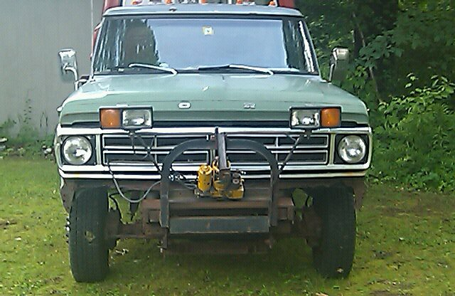 ford conversion 4x4 1968 f350 herrington dually marmon