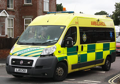 UK Specialist Ambulance Service Fiat Ducato Emergency Ambulance 310 - LJ10 CXX (IOW 999 Pics) Tags: uk fiat united kingdom hampshire ambulance service emergency eca specialist totton ducato uksas lj10cxx