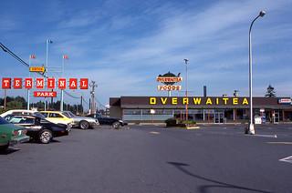 Terminal Park Overwaitea - Nanaimo BC - June 1978 (V2)