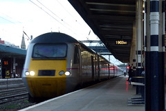 Doncaster (DarloRich2009) Tags: yorkshire dor eastcoast ec doncaster southyorkshire hst eastcoastmainline highspeedtrain ecml class43 doncasterstation doncasterrailwaystation 43329 directlyoperatedrailways