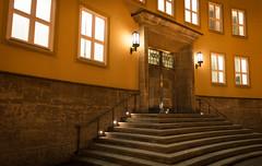 HochTief Haus (Gnathophyllum Elegans) Tags: essen treppe tr hochtief