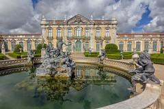 Reflejos de Queluz (Enrique Garcia Polo) Tags: portugal palace palacio queluz distritodelisboa