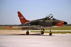 56-2912 / QF098 / FE493 (Paul Thallon - Aviation Photos) Tags: florida pam panamacity northamerican supersabre tyndallafb qf100d kpam 562912 williamtell82 williamtellairtoairweaponsmeet qf098 fe493