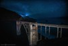 Headin' North (Silent G Photography) Tags: california ca longexposure nightphotography cali stars landscape bigsur wideangle adobe astrophotography nik nikkor centralcoast bixby bixbybridge 2013 nikond800 markgvazdinskas silentgphotography silentgphoto
