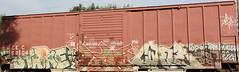 (Runtrains) Tags: train graffiti strike bandit lm freight cuate