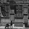 Brooklyn Stripes (Barry Yanowitz) Tags: nyc newyorkcity blackandwhite bw ny newyork brooklyn blackwhite dumbo nycity 718 downunderthemanhattanbridgeoverpass