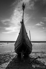 Warrior of the Sea.. (Aneendya Sarker) Tags: sea bw boat blackwhite seashore bangladesh coxsbazar aneendya aneendyasarker aneendyasarkerphotography