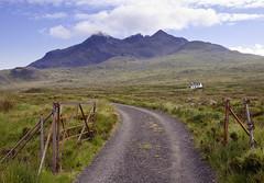 The Cuillins, Isle of Skye (JamboEastbourne) Tags: black skye scotland cottage ridge remote cuillins isle cuillin sligachan dearg ambasteir altt sgurrnagillean sgurrabasteir
