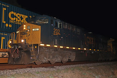 Boxcar logo! (Colin Dell) Tags: train florida jacksonville fl siding freight csx jacksonvillefl intermodal railfanning darkfuture yn3 boxcarlogo yn3b