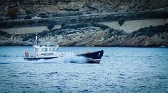Faro de Navidad. Cartagena, Spain (jrusca) Tags: puerto atardecer muelle barcos cartagena prcticos farodenavidad