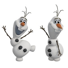 RoomMates RMK2372SCS Frozen Olaf The Snow Man Peel and Stick Wall Decals, 1-Pack - US Amazon Product Image #1 - Two Olaf Decal Images (drj1828) Tags: wall olaf frozen us amazon roommates decal 22inch productimage productinformation