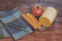 A year of sundays 11/52 (Itziar Aio) Tags: vegetables pumpkin carrots calabaza tomate cocinar zanahoria hortalizas colornaranja