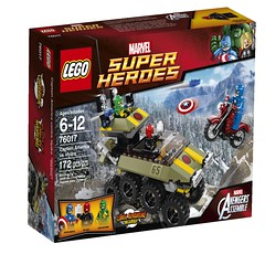 LEGO Marvel 2014 Captain America vs. HYDRA (LEGO Toy Story News) Tags: set spider lego marvel sets avengers minifigure 2014 minifigures
