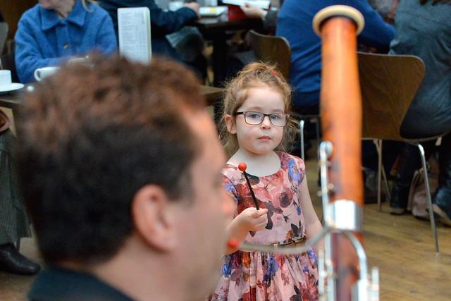 An audience member at the Paul Hamlyn Christmas Treat ©ROH/Brian Slater