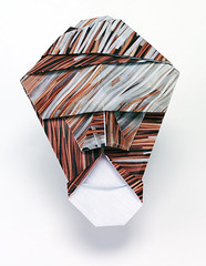 Origami création - Didier Boursin - Masque