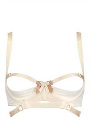 LUISAVIAROMA BORDELLE  TECHNO MESH OPEN BRA (luisaviaroma.fashion) Tags: clothing women lingerie bordelle luisaviaroma springsummer2013