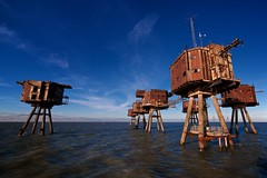 "Red Sands (edwardhorsford) Tags: world trip red sea guy abandoned metal thames rust war industrial fort aircraft military air navy ruin visit estuary sealand ww2 second sands defence mersey forts charter maunsell antiaircraft raids u6 ""guy redsands maunsell"""
