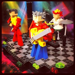 LEGO Band (tim.perdue) Tags: columbus ohio musician brick square drums town store lego guitar band center squareformat hudson easton iphoneography instagramapp uploaded:by=instagram foursquare:venue=4b099ae3f964a520441a23e3