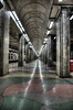 Trainstation - Södra station (Pellebog) Tags: europa stockholm norden trainstation sverige hdr inne söder perspectiv byggnader stockholmslän 11bildbehandling 3platser 6arkitektur perspektivarkitektur