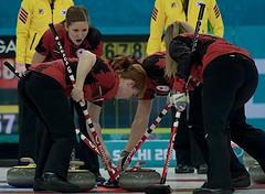 Sochi Ru.Feb17-2014.Winter Olympic Games.Team Canada,skip Jennifer Jones,third Kaitlyn Lawes,lead Dawn mcEwen,second Jill Officer.WCF/michael burns photo (seasonofchampions) Tags: jones russia jennifer olympics olympictrials curling sochi sochi2014 thirdkaitlynlawes leaddawnmcewen skipjenniferjones secondjillofficerwcfmichaelburnsphoto sochirufeb172014winterolympicgamesteamcanada