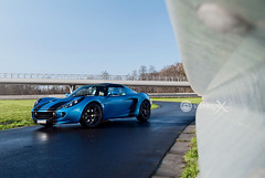 Lotus Elise S2 (Vroompix) Tags: blue black photography lotus elise wheels automotive maxim laser s2 deknock vroompix