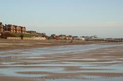 Lowestoft beach, low tide (Kirkleyjohn) Tags: beach seaside seashore lowestoft kirkley lowestoftbeach lowestoftsouthbeach
