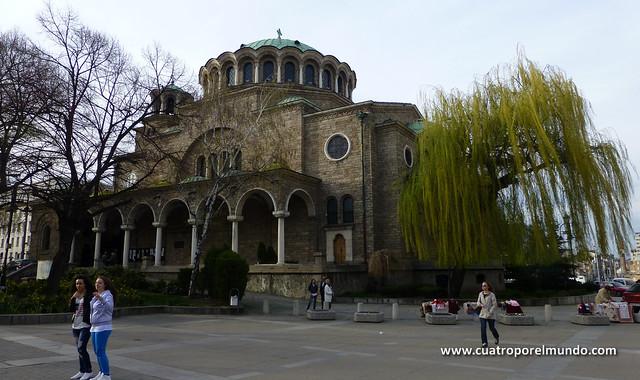 Catedral en la plaza Sveta Nedelia