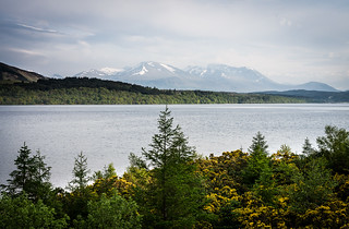 Loch Lochy and the Nevis range