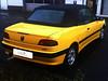 03 Peugeot 306 Cabriolet Verdeck ältere Arbeit gbs 03