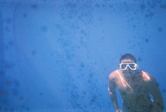 From the deep sea (JBB | MK00) Tags: voyage travel film water 35mm asia southeastasia underwater philippines salt 200 asie southeast bosch 2014 focusfree fujifilmsuperia200