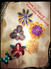 What's your #favourite #kanzashi?  Quale #handmade kanzashi ti piace?  Fioridoriente #fioridoriente #kimono #kanzashi #geisha #maiko #passion #tela #cinta #ribbon #colors #fiori #fleur #flores #giappone #moda #look #fattoamano #Japan #Happy #sunday (fioridoriente) Tags: flores fleur colors look japan happy handmade sunday moda maiko geisha passion kimono ribbon fiori favourite cinta giappone tela kanzashi fattoamano fioridoriente