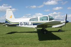 Grumman American Aviation Corporation Grumman AA-5 Traveller G-TALJ (Old Buck Shots) Tags: aviation traveller corporation american dm grumman aa5 egsv gtalj