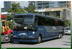 "Prevost X3-45 ""Greyhound"" (uslovig) Tags: greyhound toronto ontario canada bus buses coach busse stage 45 kanada on x3 prevost reisebus"
