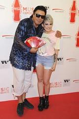 Angy en el Concierto de Miley Cyrus en Madrid
