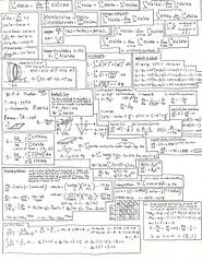 Calculus Notes 1995 - darken (emmettanderson) Tags: seattle school washington notes study finals math calculus maths newton euler sccc