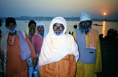 Magh Mela  .. Prayag near Allahabad 1994 (Nick Kenrick.( away in Europe )) Tags: allahabad prayag maghmela