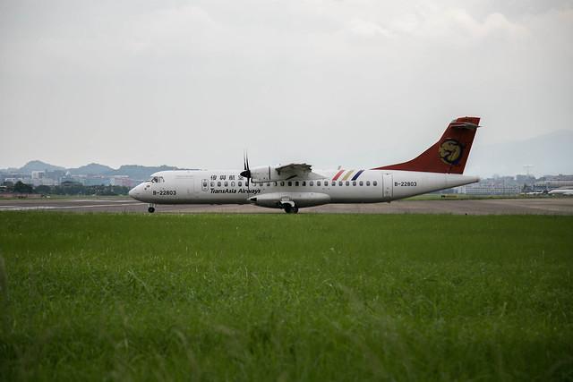 Transasia Airways B-22803  ATR72-500 GE235 TSA-KNH  2014.6.19