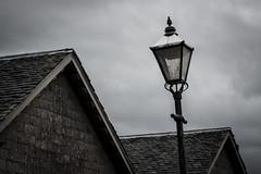 Luss village (Full Frame Visuals) Tags: scotland roadtrip vacation highlands loch lomond landscape luss village dark high contrast lantern roofs houses