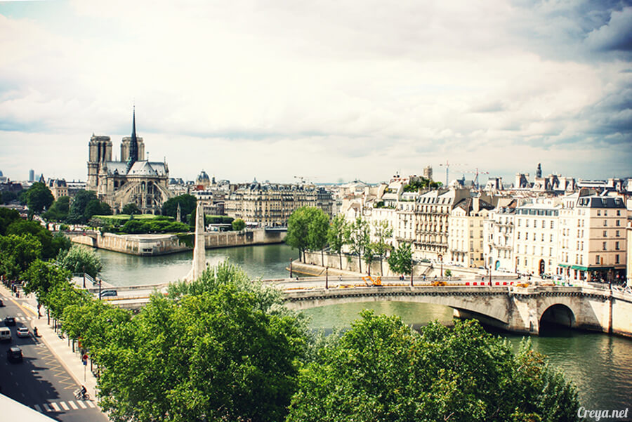 2016.10.02 ▐ 看我的歐行腿▐ 法國巴黎一日雙聖,在聖心堂與聖母院看見巴黎人的兩樣情 25