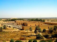 Nebuchadnezzar II's Palace at Babylon (Sumer and Akkad!) Tags: babylon babel iraq mesopotamia nebuchadnezzarii neobabylonianperiod chaldean palace ruins renovation